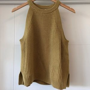 Madewell Cotton Knit Tank M